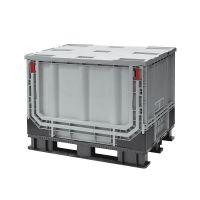 Palletbox inklapbaar 1211x1011x903 mm - kunststof