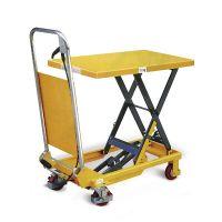 Schaarheftafel 150 kg 740x450 mm - verrijdbaar