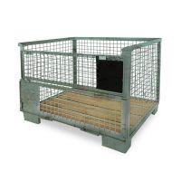 DIN Gitterbox 1240x835x970mm, gebruikt - UIC Norm 435-3