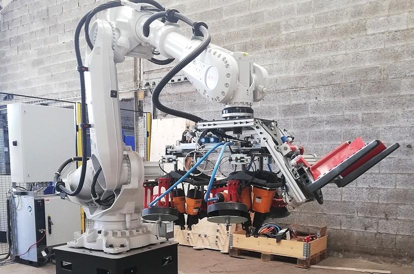 Automatisering in de productie - een nieuwe robot voor palletproductie in Nederland en Frankrijk