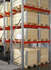 Pallet opzetranden - bescherming tijdens transport!