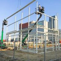 Nieuwbouw kantoor Rotom in Maasbracht