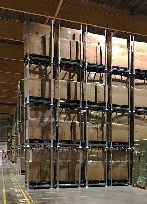 Beheer elke vierkante meter opslagruimte met stapelrekken